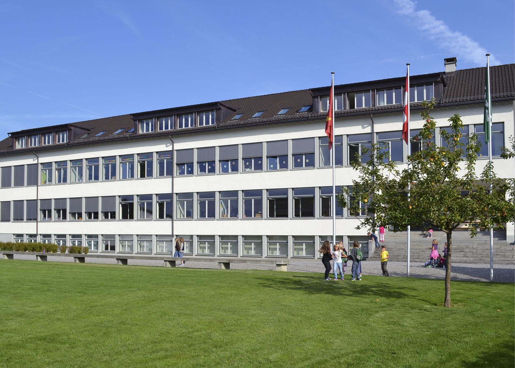 Elektroarbeiten Schulhaus Zentral Schmerikon 2